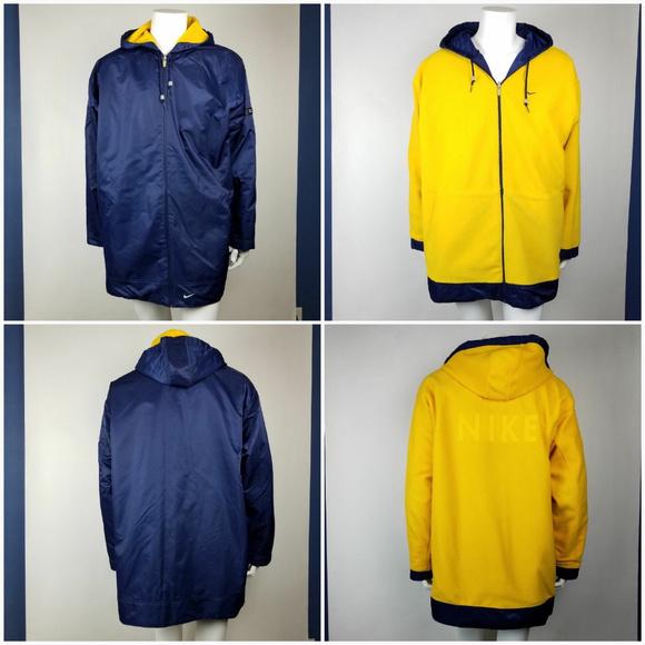 a3f3f2e37 Nike Jackets & Coats | Jacket Coat Reversible Hooded Xl | Poshmark